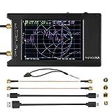GUOZ Analizador de Red Vectorial 10kHz-1.5GHz HF VHF UHF Analizador de Antena, con LCD Press SN