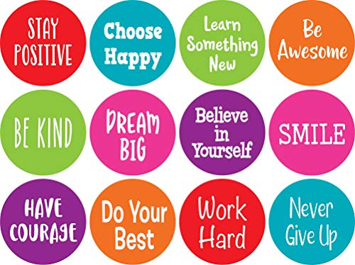 """Spot On Carpet Markers: Positive Sayings - 4"""""""