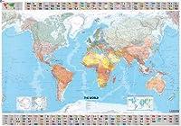 Michelin the World Map (Michelin Wall Maps)