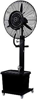 Ventilador de Pedestal Ventilador de nebulización Industrial Ventilador de enfriamiento del Piso 43L Humidificador automático Agregar Agua Negocio Oscilante Altura Ajustable Funcionamiento silencios