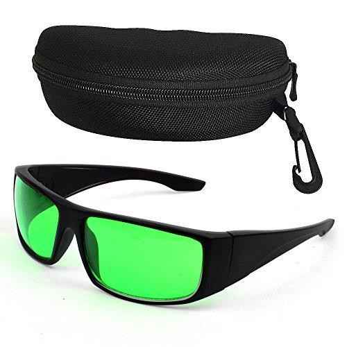 Grow Room LED Light Brille, Schutzbrille Gegen UV, IR, Strahlen, für Indoor Gardens Gewächshäuser Hydroponics Augengläser