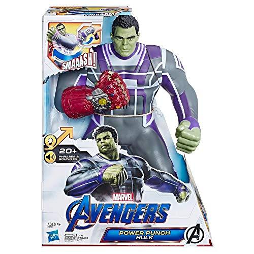 Boneco Deluxe 2.0 Hulk E3313 Hasbro Avengers Verde