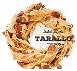 Paquete de Taralli Napolitana Sugna e Pepe de 500 gramos manteca de cerdo y pimienta Extra Mandorlato con almendra Nápoles Aperitivo Cena Cerveza