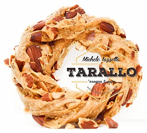 Taralli sugna e pepe Napoletani Extra Mandorlato Tarallo Con Mandorla Napoli 1kg Snack Cena Aperitivo Birra