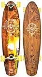 Kryptonic Retro Native Surf longskate, Naranja