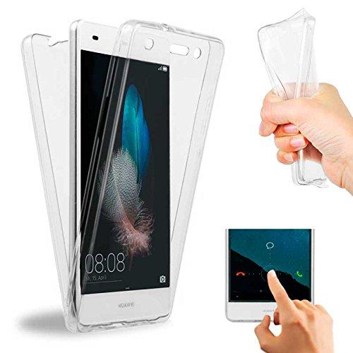 OcioDual Funda Ultrafina TPU Transparente 360 Completa Bumper Gel para Huawei P8 Lite ALE-L21 ALE-L02 ALE-L04 ALE-L23 ALE-UL00
