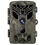 Suntekcam Trail Camera 24MP 1080P - Game Camera for Wildlife Monitoring with 2.4' LCD 120° Detection Motion Activated Night Vision Hunting Camera