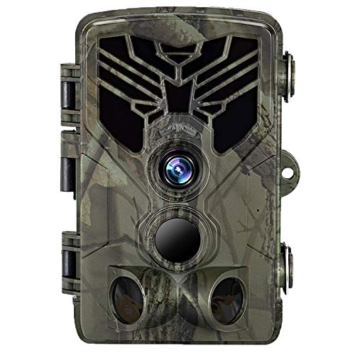 """Suntekcam Trail Camera 24MP 1080P - Game Camera for Wildlife Monitoring with 2.4"""" LCD 120° Detection Motion Activated Night Vision Hunting Camera"""