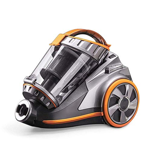 YBINGA Cilindro recipiente Aspirador Gran capacidad de succión Potente Aspirador 800 W Multi Sistema Multifuncional Aparatos de Limpieza para Aspiradora