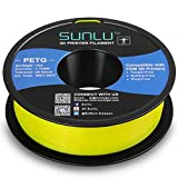 SUNLU Filamento PETG de 1.75mm con Carrete Sunlu Upgrade de 1kg(2.2lbs), Precisión dimensional +/- 0.02mm, se ajusta a la mayoría de las Impresoras FDM, Turquoise