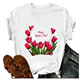 Mama I'll Be There for You T Shirt Tops for Women Summer Mothers Day Funny Letter Print Blouse Tee Silk Dress for Women Girls' Dresses Orange Dress Mermaid Dress Women Dresses Summer