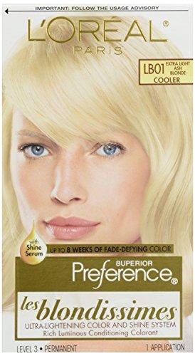 L'Oreal Preference #Lb-01 Extra-Light Ash Blonde, 1 ct