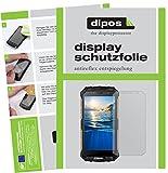 dipos I 2X Schutzfolie matt kompatibel mit Doogee S60 Folie Bildschirmschutzfolie