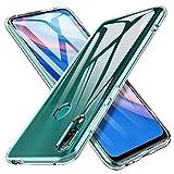 iBetter Coque pour Huawei P Smart Z, Soft Premium TPU Transparent, Anti-Slip, Résistant aux...