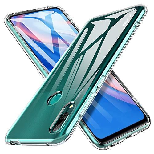 iBetter Slim Thin Funda protectora para Huawei P Smart Z, TPU suave, Funda de silicona transparente a prueba de golpes, para Huawei P Smart Z Smartphone.Transparent