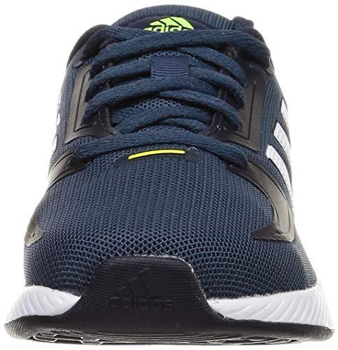 adidas RUNFALCON 2.0 K, Zapatillas de Running, AZMATR/FTWBLA/Tinley, 37 1/3 EU
