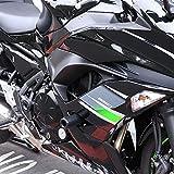 Shogun Kawasaki Ninja 650 Z650 Z 650 EX650 EX 2017 2018 2019 2020 2021 Black No Cut Frame Sliders Fits ABS & NON ABS Models - 750-4519 - MADE IN THE USA