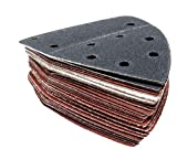 Parkside Lidl Ian 291795, 303400 - Juego de 30 hojas de lija para lijadora manual PHS 160 E5