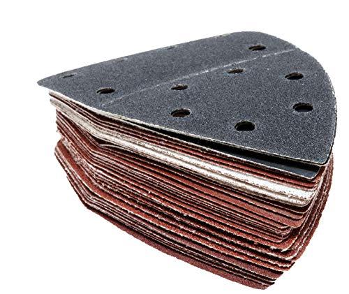 Parkside Schleifpapier Schleifblätter Set 30 Stück Holz, Stein, Lack für Handschleifer PHS 160 E5 - LIDL IAN 291795, 303400