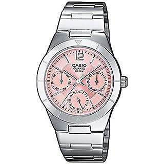 Casio LTP-2069D-4AVEF - Reloj Multiesfera para Mujer de Cuarzo con Correa en Acero Inoxidable (B000NLYPOS) | Amazon price tracker / tracking, Amazon price history charts, Amazon price watches, Amazon price drop alerts