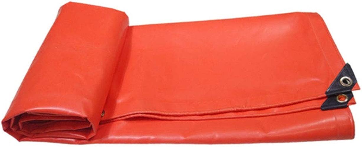 WSGYX Toile antipluie imperméable à la Pluie de bache de Camion de Voiture de Tissu de Tissu Ignifuge épais imperméable à la Pluie de Prougeection Solaire (Couleur   4M5M)