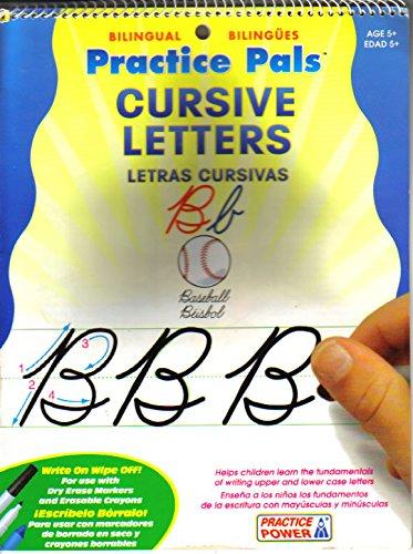 Practice Pals Cursive Letters / Letras Cursivas: Bilingual / Bilingües