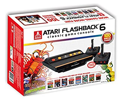 Atari Flashback 6 Classic Game System with 100 Games by Atari