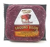 Bison Ground 90% Lean 16 Oz. Bricks - Count of 12