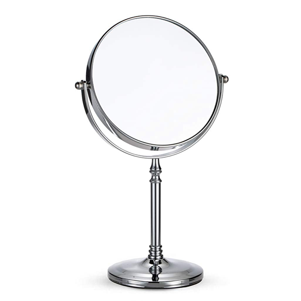 テロ価格人柄卓上ミラー、両面ミラー、カウンタートップバニティ拡大鏡、携帯用化粧鏡、寝室のメイクアップミラー、浴室の鏡