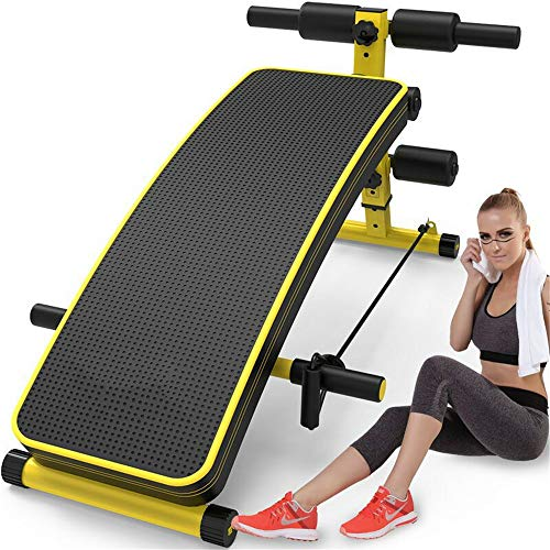 For Sale! BWAM-oud Back Inversion Table Sit-up Board Exercise Fitness Equipment Home Abdominal Multi...