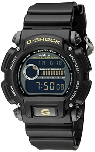 Casio G-Shock Quartz Watch with Resin Strap, Black, 25 (Model: DW9052-1CCG)