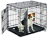 Life Stages LS-1624DD Double Door Folding Crate for Small Dogs(11 - 25lbs)