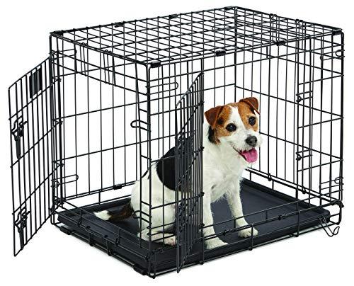 MidWest Homes for Pets Midwest Life Stages Cage Une Porte Pliante pour Chien, 60,96 x 45,72 x 53,34 cm