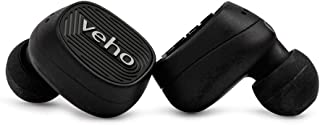 Veho ZT-1 True Wireless Earphones   Bluetooth   Headphones   TWS   Earbuds   Mic   Charging Case Included   Touch Control   AAC   Designed in The UK   VEP-017-ZT1