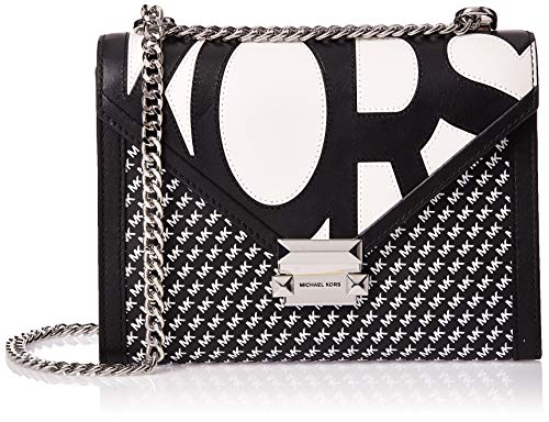 Michael Kors Whitney Large Graphic Logo Convertible Shoulder Bag