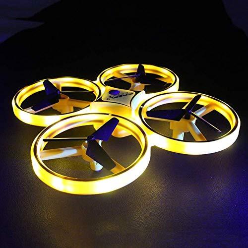 JIALI RC Mini Quadcopter Inducción Drone Smart Watch Gesto de detección Remoto Aviones UFO Mano Control Drone Altitude Hold Kids