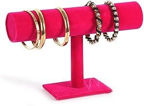 Jewelry Stand Creative Suede Bracelet Flower Jewelry Display Stand Jewelry Watch Jewelry Shelf Necklaces, Bracelets, Earri...