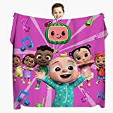 Cartoon Blanket 50'x40' Super Soft Flannel Throw Blanket Lightweight Shaggy Air Conditioner Blanket Cooling Blankets Cooling Summer Blanket Towel Blanket for Couch Kids Girls & Adults