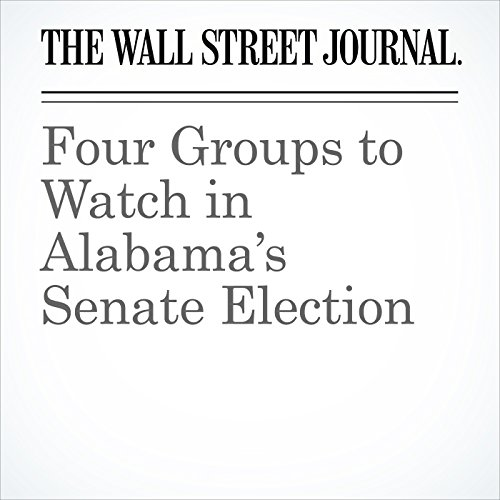 Four Groups to Watch in Alabama's Senate Election copertina