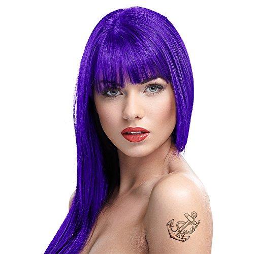 Teinture Cheveux Violet Vif 100ml Semi Permanent