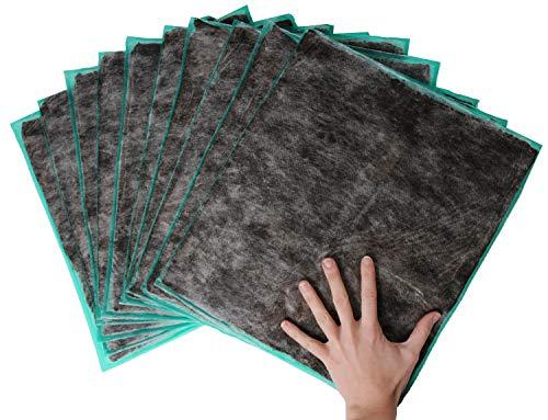 Dr. Berger PRO Moor-Kompresse 10er Pack Natur Premium Moor Moorpackungen 450g - Physio, Wellness und zuhause. Moorkissen Moorpackungen mit natürlichem Torf Schlamm Fango mit Vlies - 37x34cm (10x)