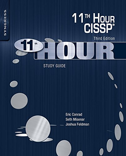 Eleventh Hour CISSP®: Study Guide