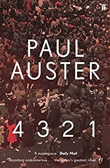 4 3 2 1 by [Paul Auster]