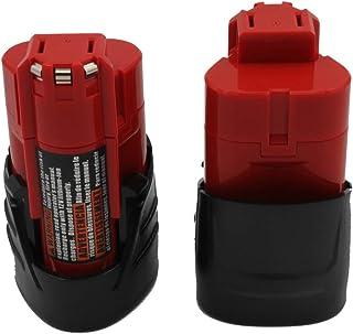KINSUN 2-Pack Reemplazo Herramienta Eléctrica Batería 12V