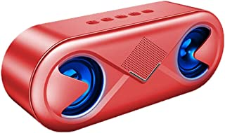 Portable Speaker Mini Bluetooth Super Cheap Small, Speaker Bluetooth 5.0, 20 Meter Bluetooth Range, Speaker for Home Outdoors Travel Party Beach Shower (Color : E)