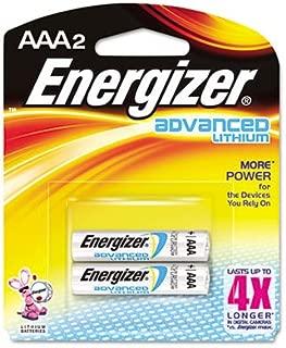 Energizeramp;reg; Advanced Lithium Batteries, AAA, 2/Pack