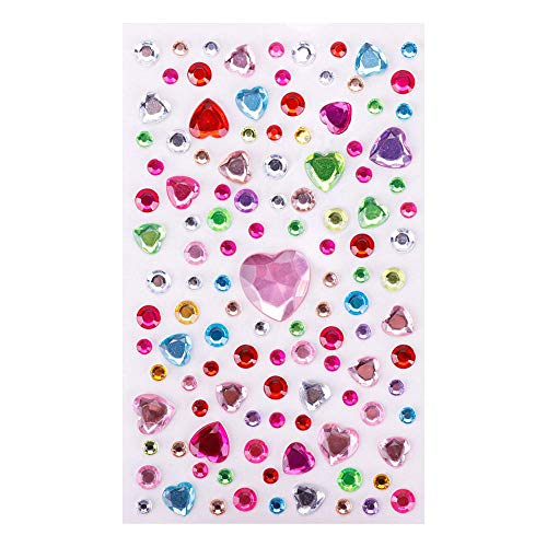 New Cute Stickers Women DIY Decorative Diamond Stickers Beauty Mobile Phone Lady Bag Decor Sticker #260303