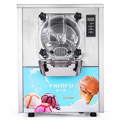 ZTBXQ Appareils ménagers Outils de Cuisine 1400W 16-20L / H Machine à crème glacée Professionnelle Machine à crème glacée Commerciale en Acier Inoxydable Saker (Blanc YKF-116)