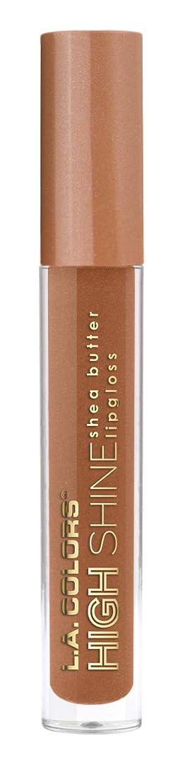 摘む数学的なコンクリートL.A. COLORS High Shine Lipgloss - Snuggle (並行輸入品)