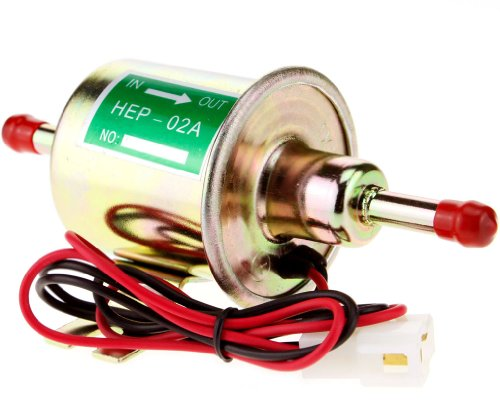 12V Pompe Carburant Electrique Essence Pétrole Solide Voiture Bateau HEP-02A